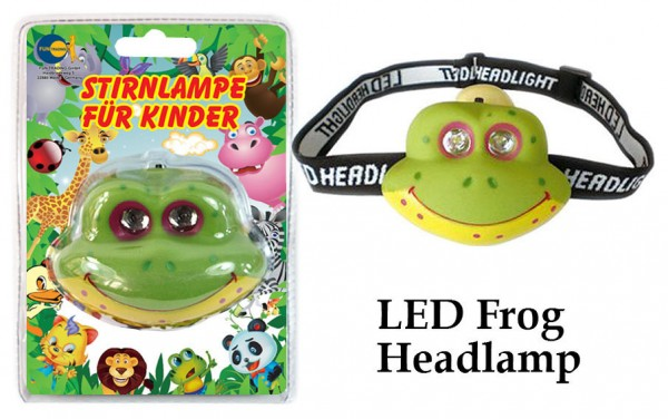 LED Stirnlampe für Kinder