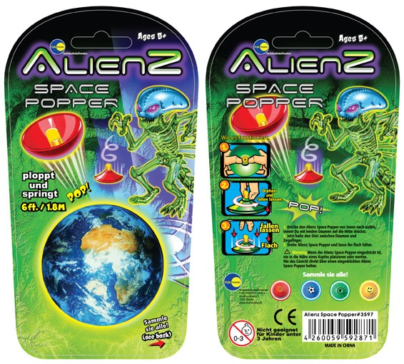 Alienz space pops