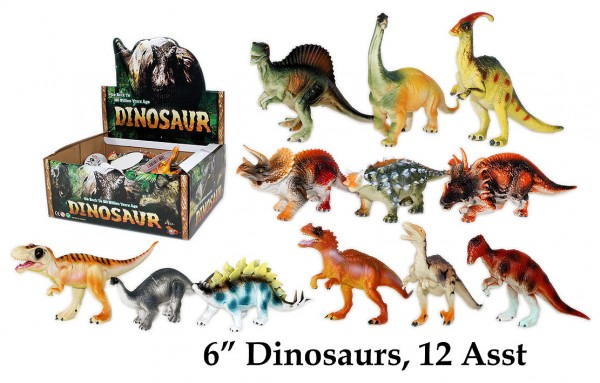 Dino Figuren 15 cm im Display