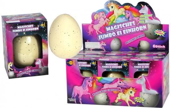 "Magische Jumbo Eier ""Einhorn"""