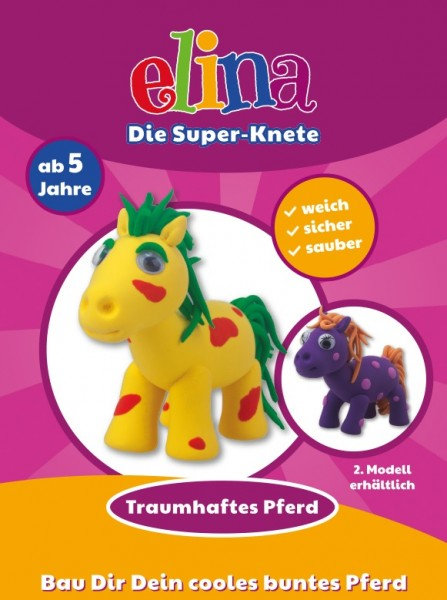 Elina die Super-Knete Pferde
