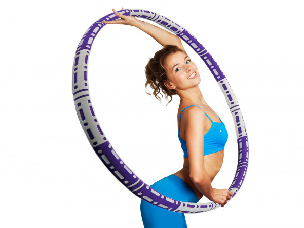 Hula Hoop - 1,1kg - Fitnessreifen mit Metallkern