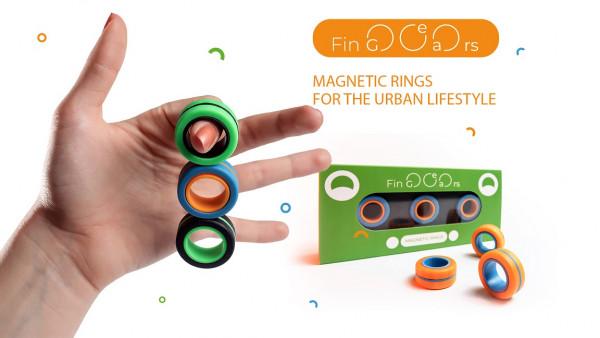Fin-Gears - magnetische Ringe - Größe S/M