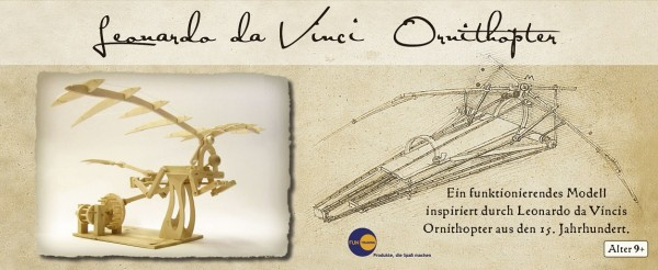 Leonardo Da Vinci Ornithopter