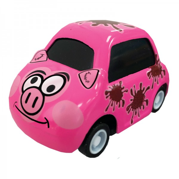 Mini Cars - Cutie Critter Cars - Schwein