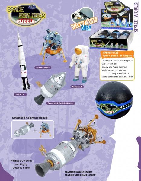 Space Explorer Puzzle