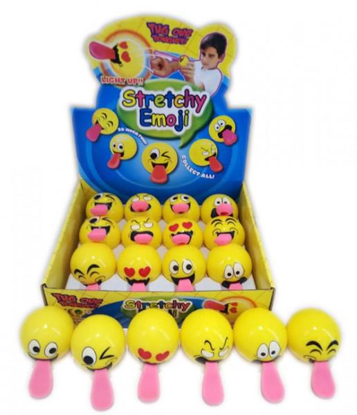 Emoji Springball mit Zunge