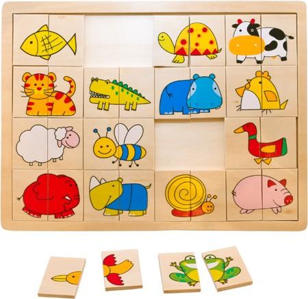 Puzzle Rechts - Links