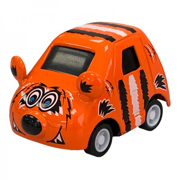 Mini Cars - Cutie Critter Cars - Tiger