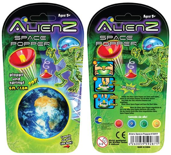 Alienz space pops