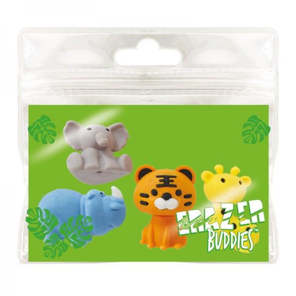 Radiergummi Minis - Eraser Buddies - Safari