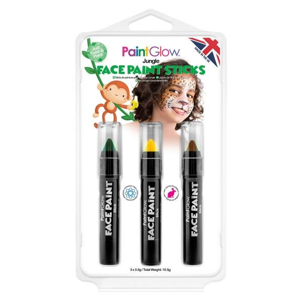 Schminkstifte Dschungel - PaintGlow