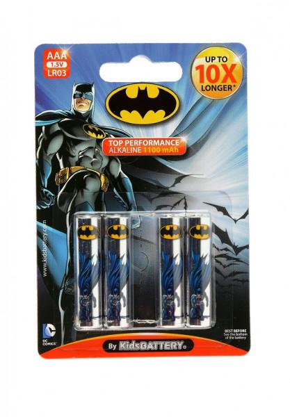 AAA Batterien mit Batman Lizenz