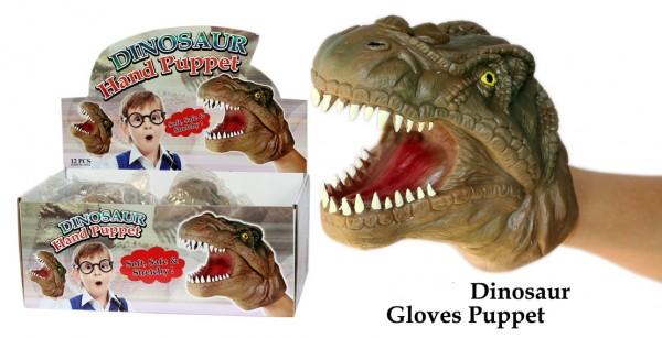 Handpuppe Dino/Krokodil