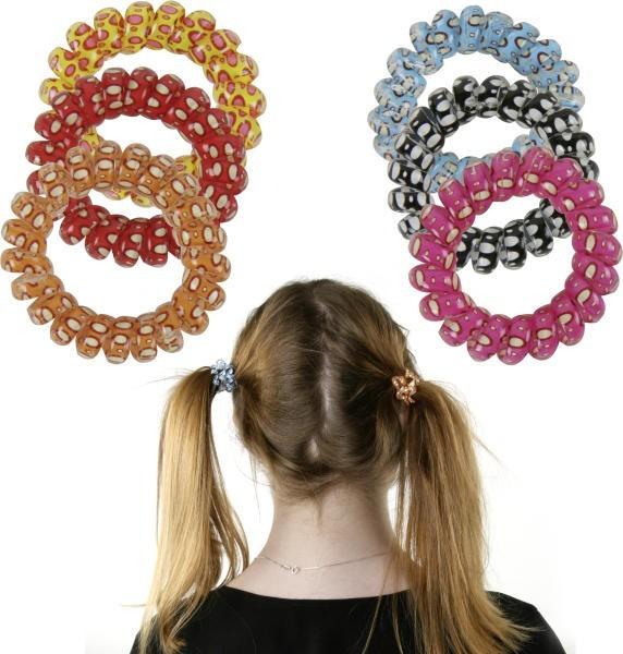 Spiral-Haarbänder