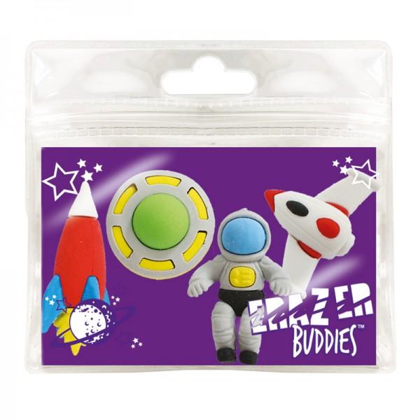 Radiergummi Minis - Eraser Buddies - Weltall