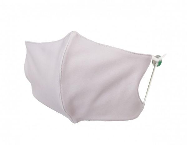 Textile Mund-Nasen Bedeckung - grau