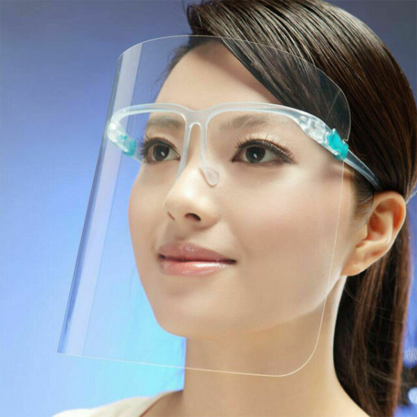 Schutzvisier - Face Shield mit Brille
