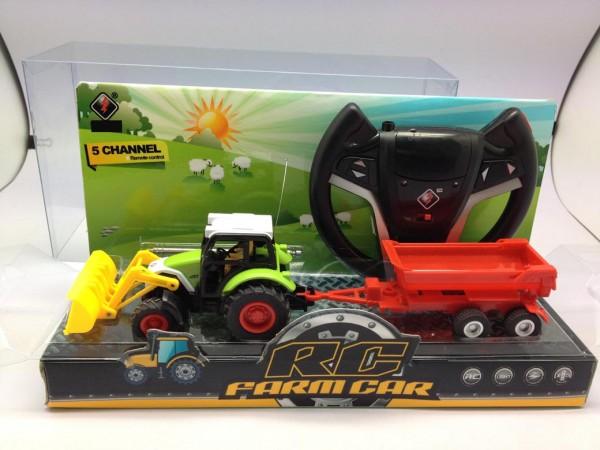 R/C Ferngesteuerter Traktor mit Anhänger