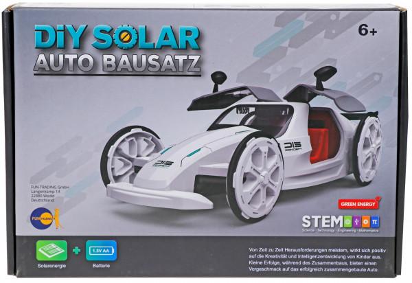 Solar Auto Bausatz