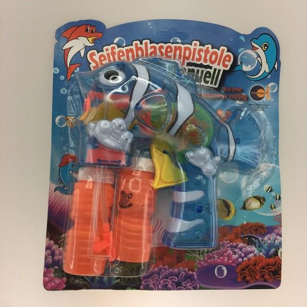 Seifenblasenpistole manuell Fisch