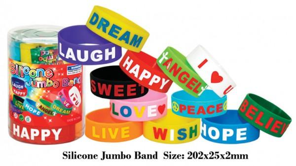 Jumbo Silicone bands