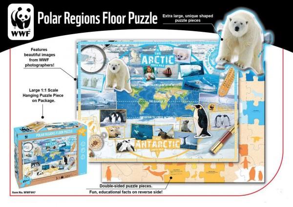 WWF Bodenpuzzle Polarregion
