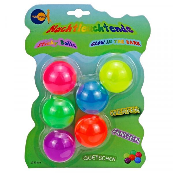 Sticky Balls - nachtleuchtend