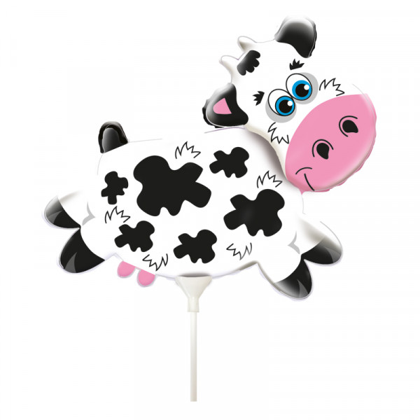 Folienballon Kuh / Balloniacs - Cow