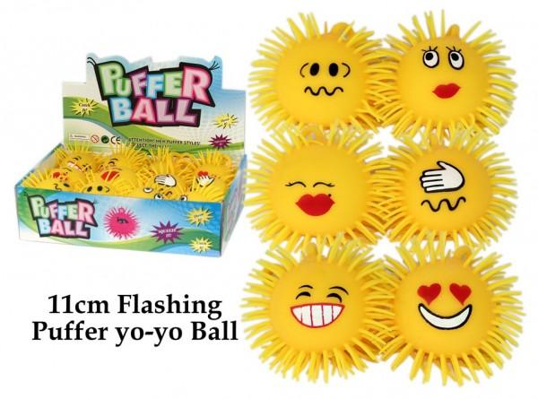 Pufferball mit Licht
