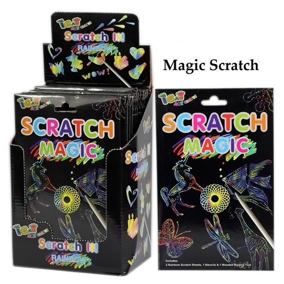 Scratch Magic Zauberpapier
