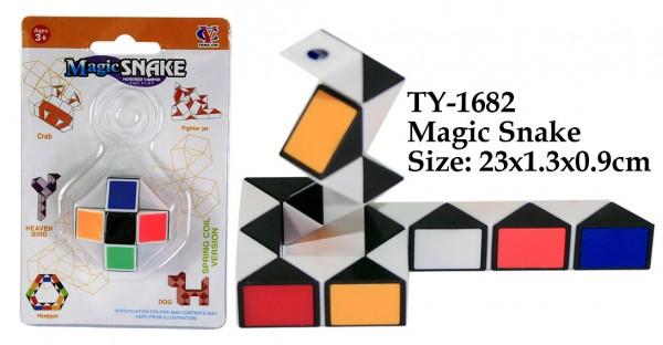 Magisches Schlangen Puzzle