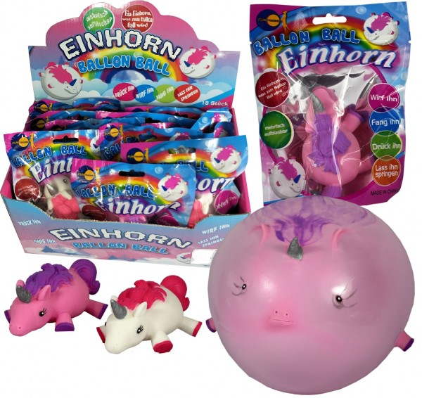 Fun Ballon Ball Einhorn