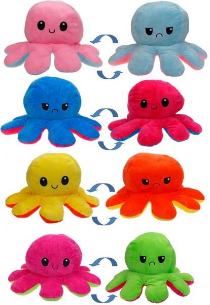 Octopus - Wendeplüsch - 40cm
