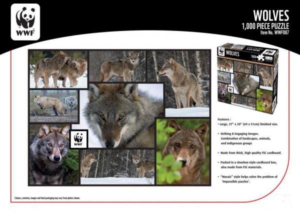 WWF 1000 Puzzle Wölfe