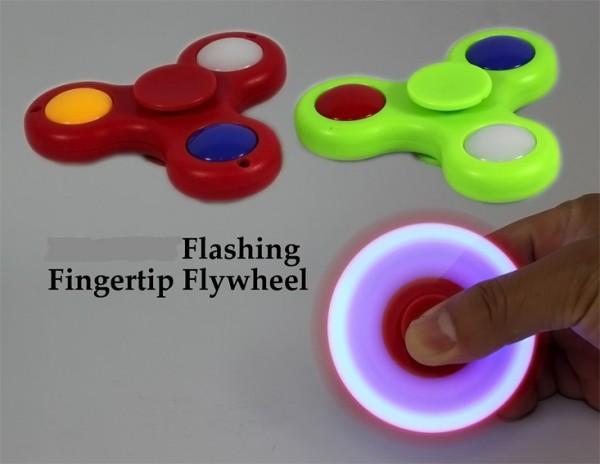 Finger-Kreisel fidget spinner LED Licht