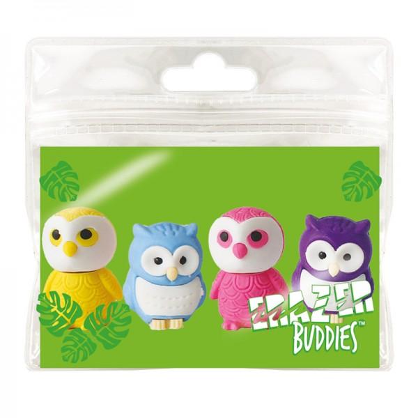 Radiergummi Minis - Eraser Buddies - Eulen