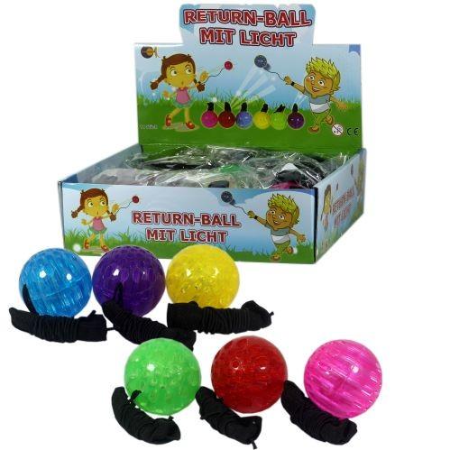 Returnball mit Licht