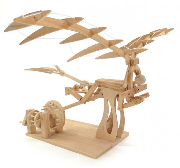 Leonardo Da Vinci - Ornithopter - Holzbausatz