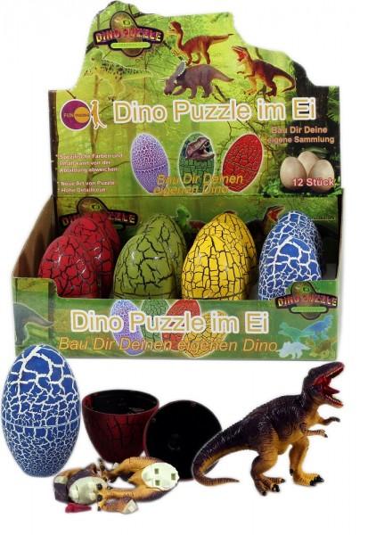 Dino Puzzle im Ei