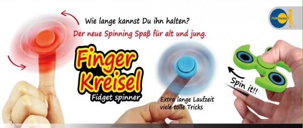 Finger-Kreisel fidget spinner nachtleuchtend