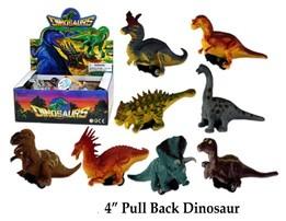 Dino Figuren mit Rückzug 10 cm im Display
