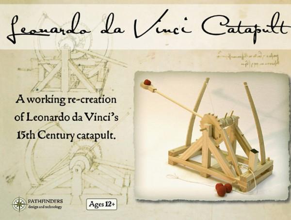 Leonardo Da Vinci Katapult