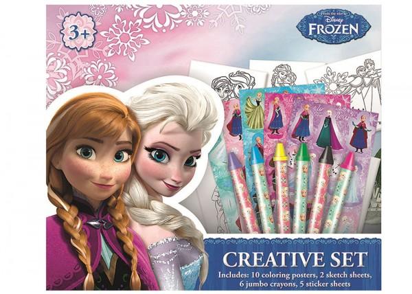 Frozen Kreativ Malset