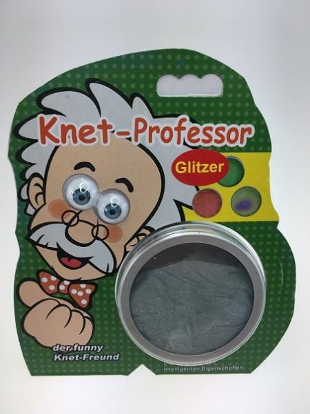 Knetprofessor Glitzer