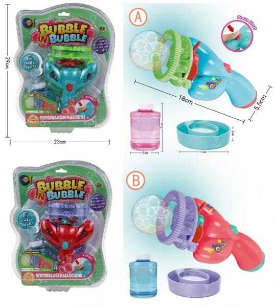 Bubble in Bubble - Seifenblasenmaschine