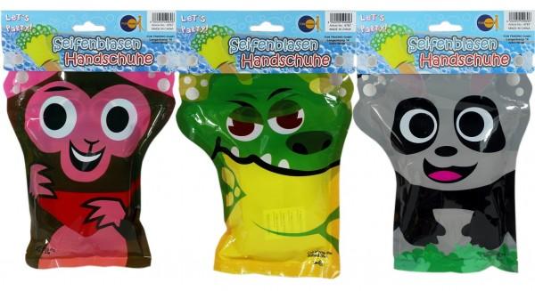 Seifenblasen Handschuhe