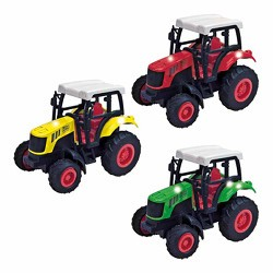 Traktor mit Rückziehmotor