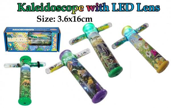 Kaleidoskop mit LED Licht