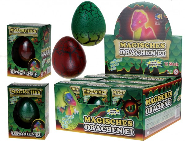 Magisches Drachen Ei / Magic Growing Egg Dragon